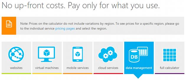 3. Sottoscrivere il servizio Azure Storage per il cloud backup