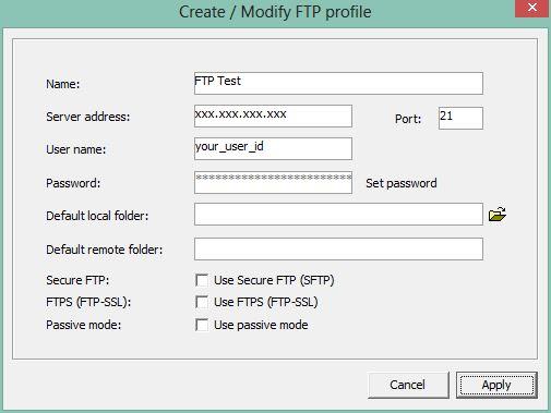 1. Cómo usar el cliente ftp