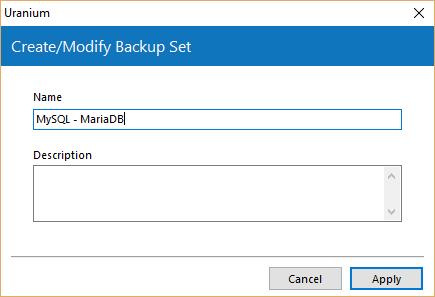 3. Configuración de una copia de seguridad de una base de datos MYSQL/MARIADB